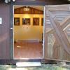 Cedar Door Sculpture