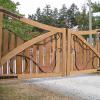 Cedar Driveway Gates