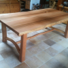 Old growth cedar dining table