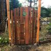 Split Cedar Gate