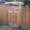 Stranan Cedar Entrance gates