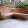 Cob Bench