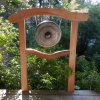 Asian Gong Stand Torii Gate