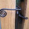 Spiral gate latch