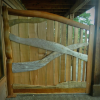 Driftwood Privacy Screen