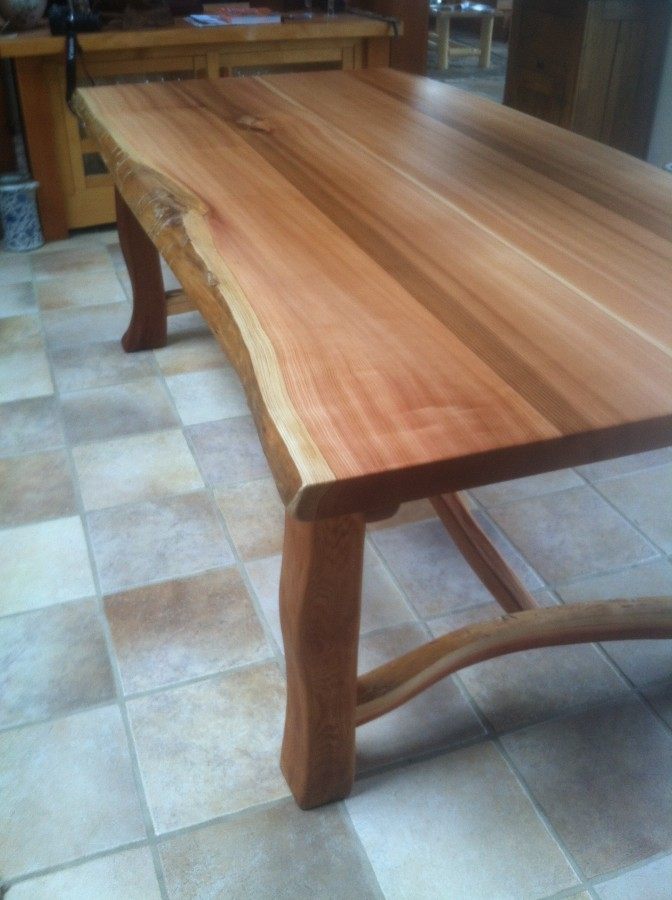 Red Cedar Dining Table Cedar Sustainable Woodwork