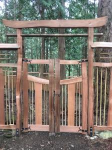 bamboo garden entrance