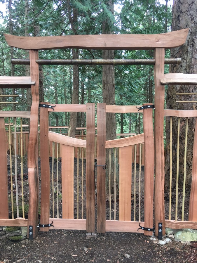 Cedar Fence Gate Fencing Lakeside Lumber The Northwest S