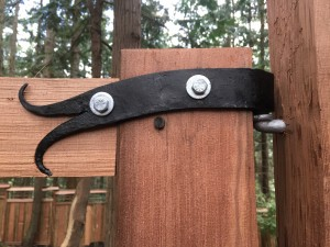 hand forged hinges