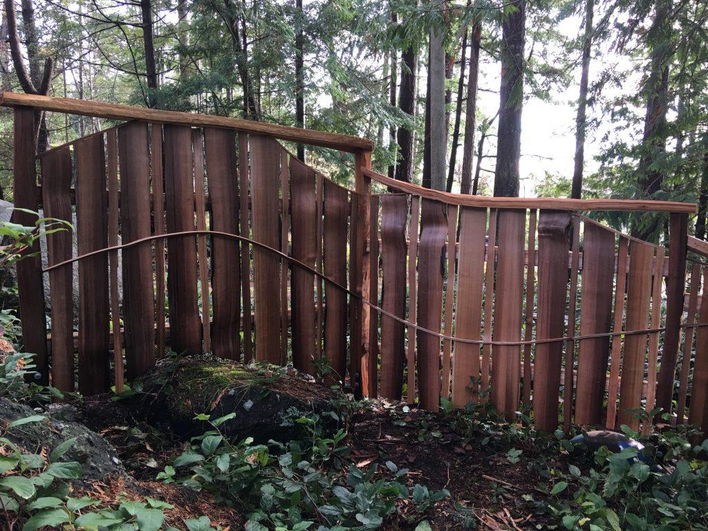 Cedar Fence Posts Archives Thuja Wood Art Reclaimed Cedar Furniture Wood Art Vancouver Victoria Gulf Islands British Columbia