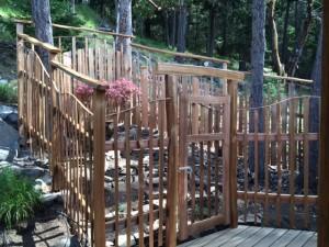 herb garden- gate