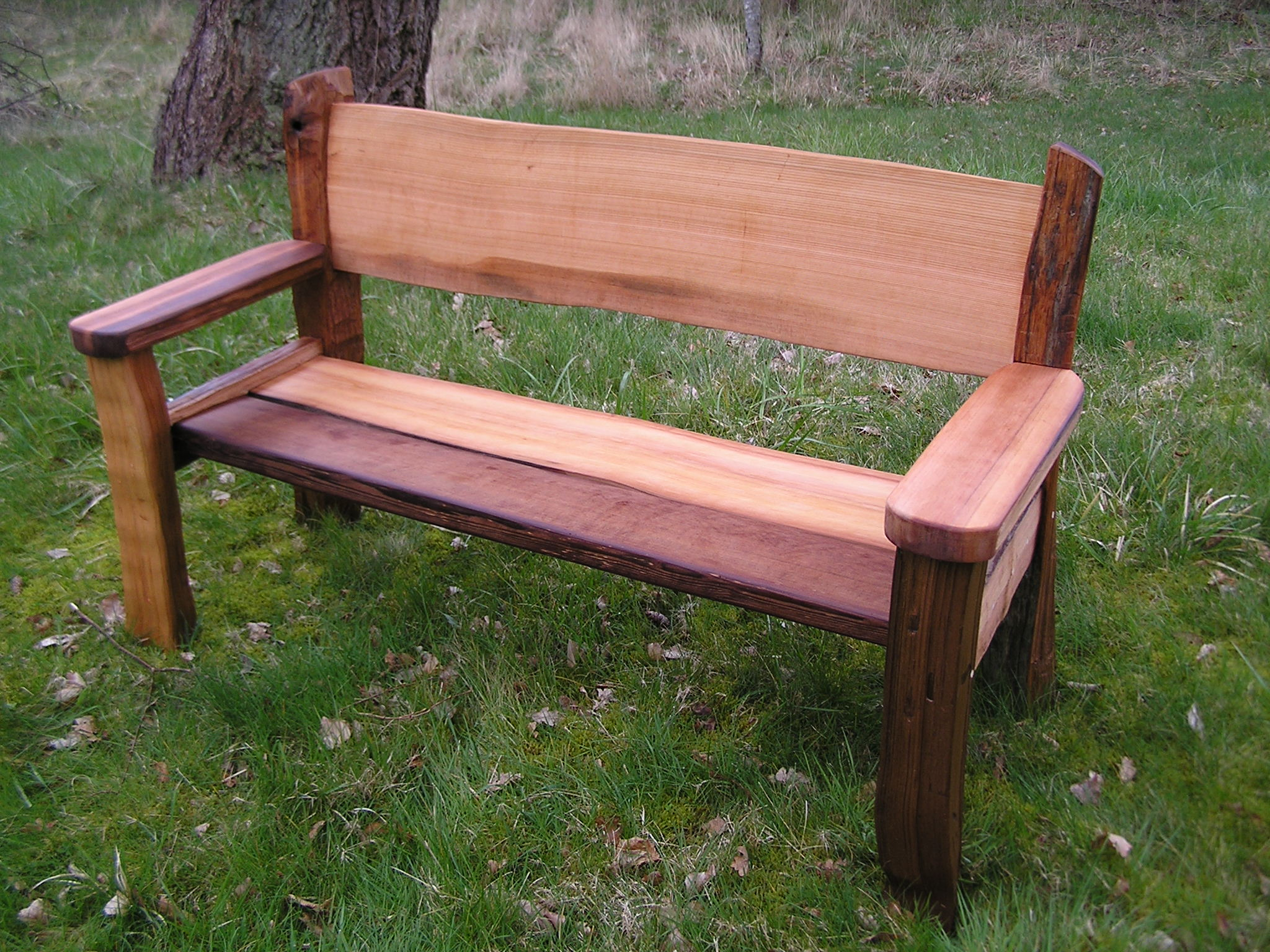 Reclaimed Cedar Benches Cedar Sustainable Woodwork