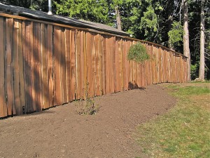 Stranan Hand Split Cedar Fence Project - Cedar Sustainable Woodwork