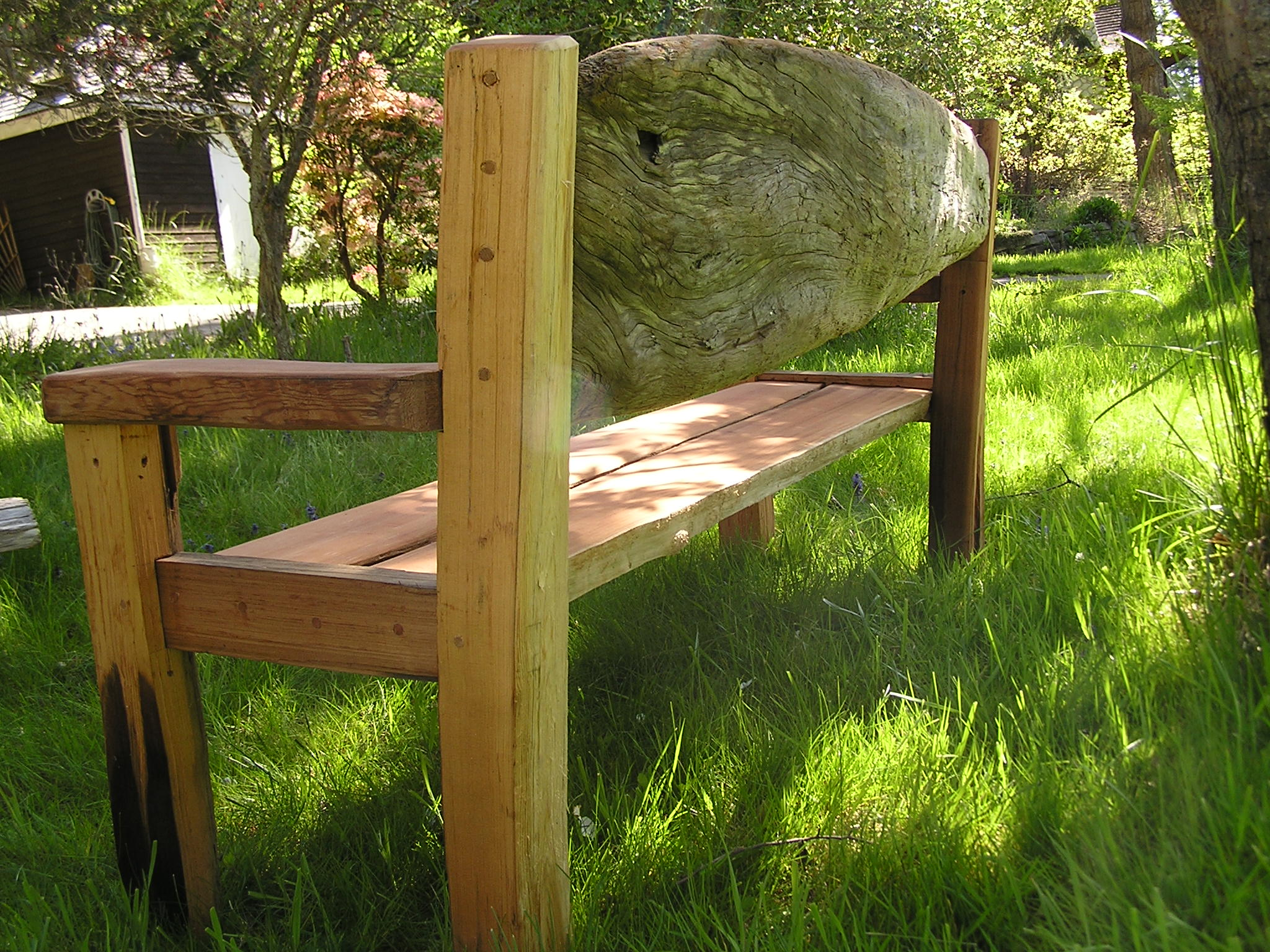 log out a of driftwood for best pasharuggles pinterest make furniture how images to bench image on result