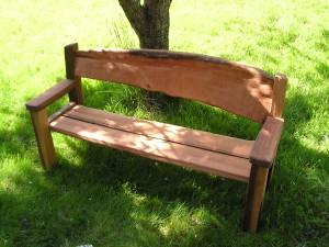 Driftwood bench 3