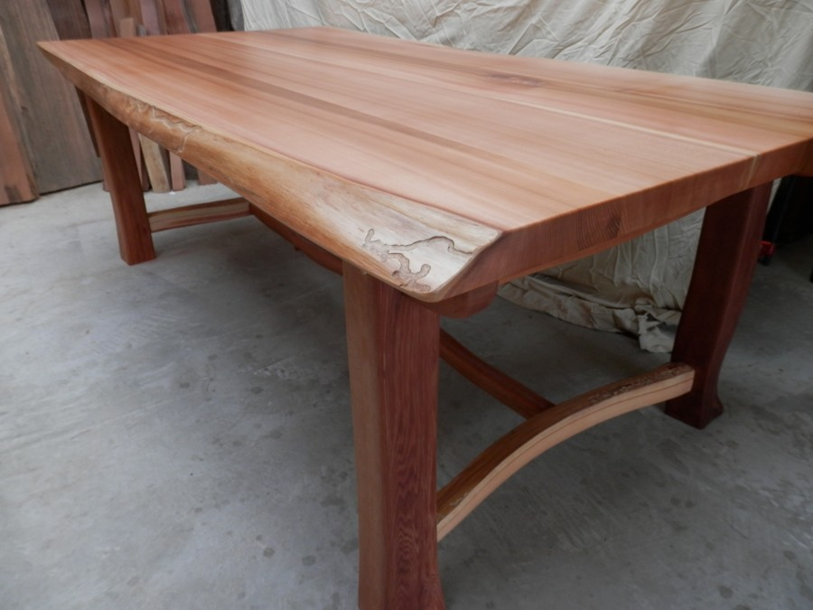 Phenomenal Old Growth Cedar Dining Table Thuja Wood Art Download Free Architecture Designs Scobabritishbridgeorg