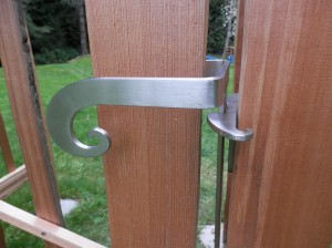 Gate latch- sustainability