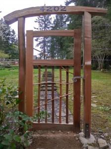 Fleming entrance gate