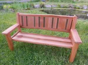 Six foot Bench
