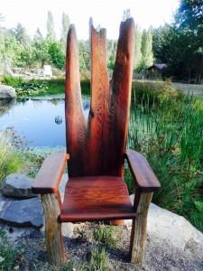 Fairy king throne