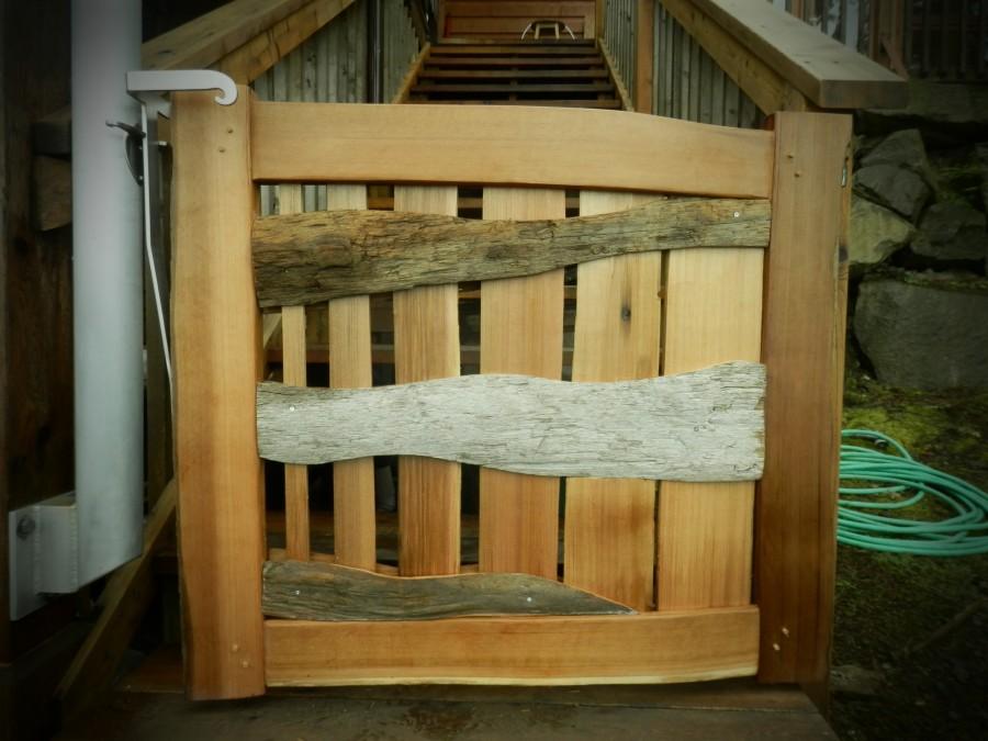Small Driftwood Gate