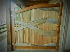 privacy screen / cedar gates