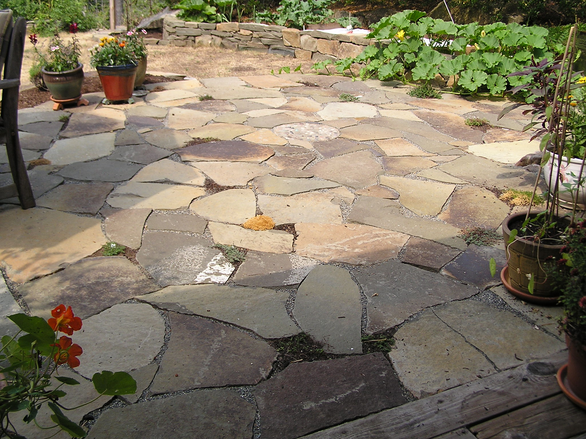 Patio Pictures Enchanting Of Sandstone Patio Designs Image