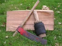 tools for reclaimed cedar